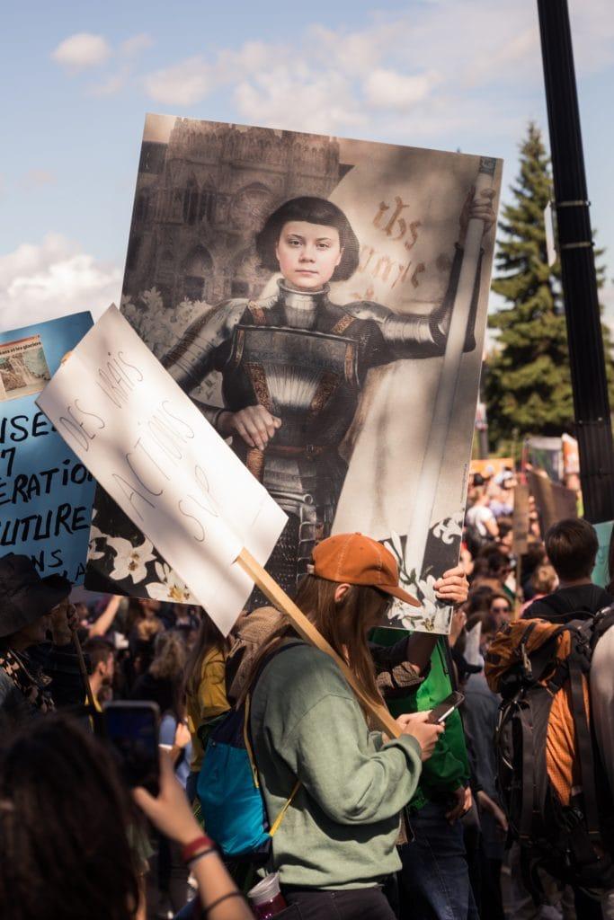 greta thunberg manifestation