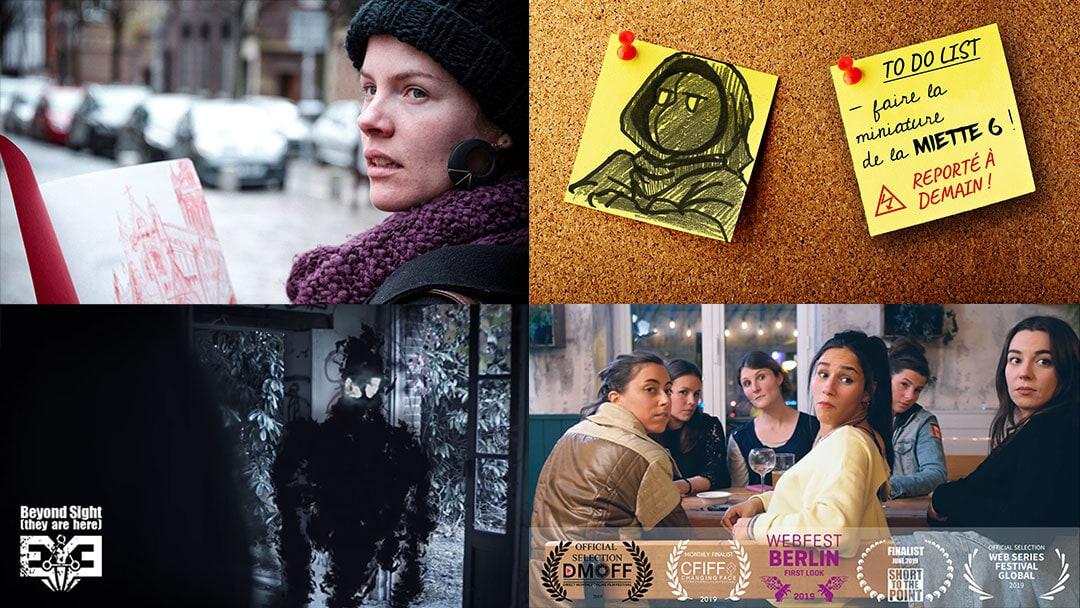 production cinéma audiovisuel websérie arty steam