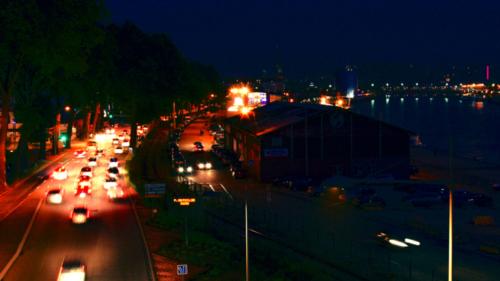 Rouen depuis le pont Flaubert